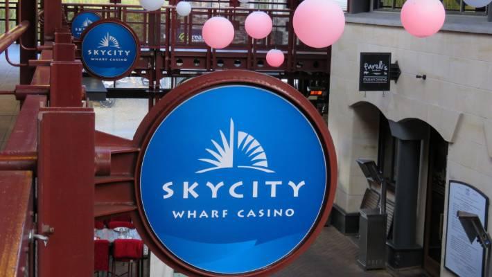 sky city wharf casino image