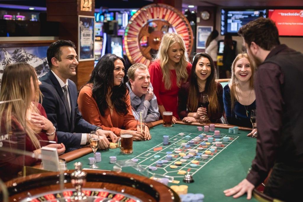 SkyCity Queenstown casino interier.