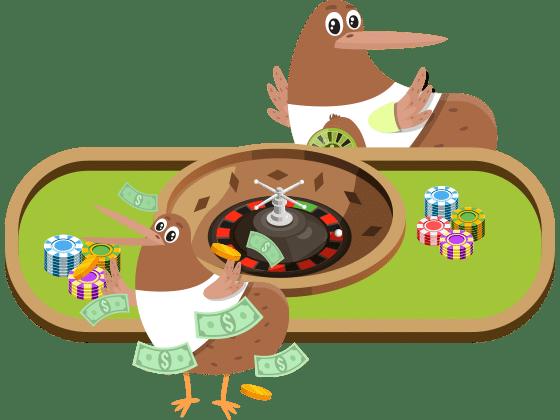 Kiwis plying roulette at Joy Casino