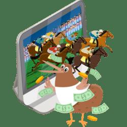 Online gambling sites in New Zealand logo