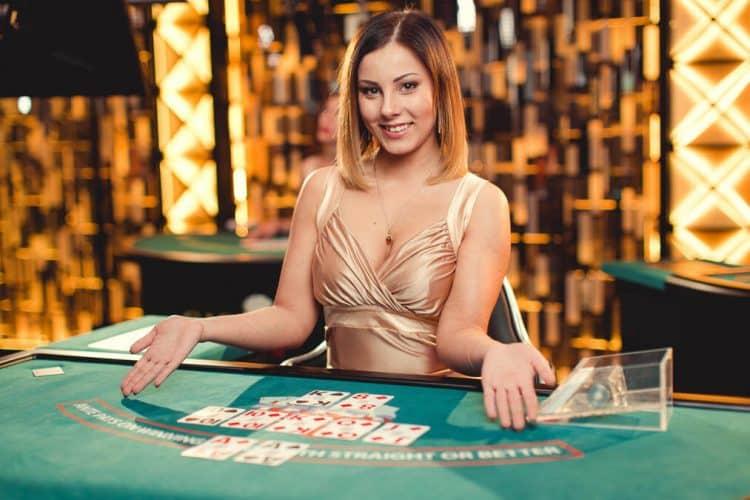 live dealer on online poker