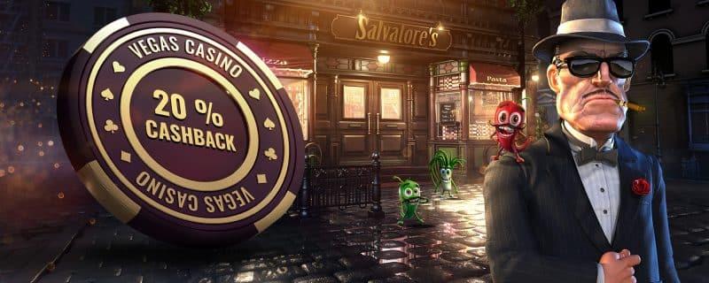 Vegas casino cashback promotion image