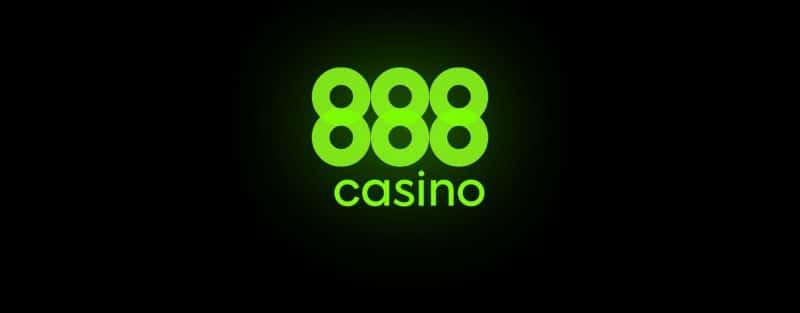 huge logo of the 888 casino