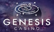 Logo of the Genesis casino