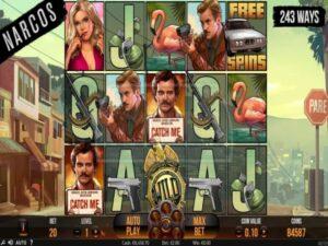 narcos slot gameplay screenshot