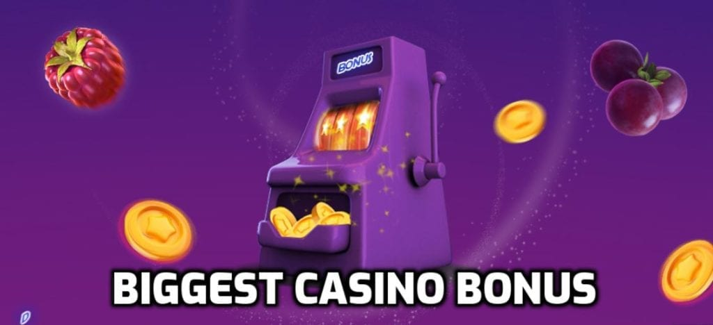 Biggest casino bonus