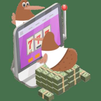 kiwi playing pokies online