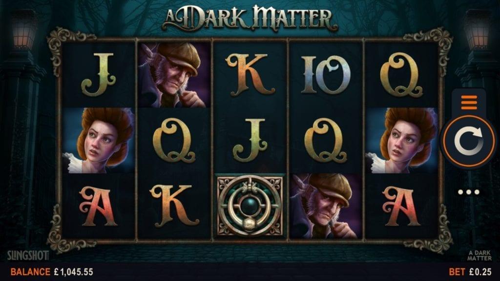 a dark matter gameplay screen