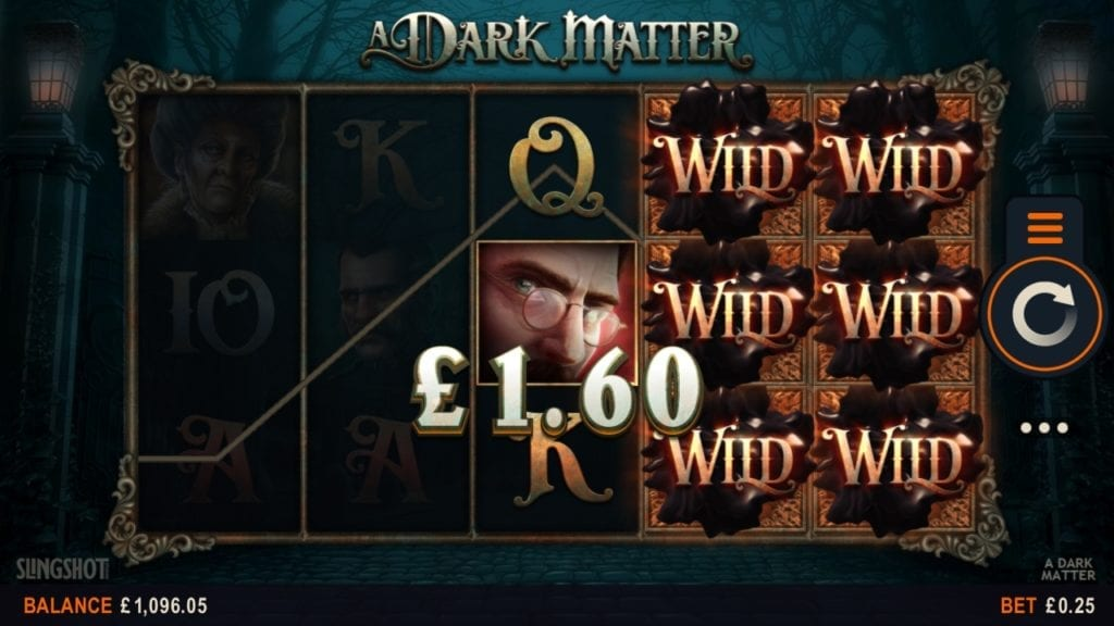 Liar di game slot A Dark Matter