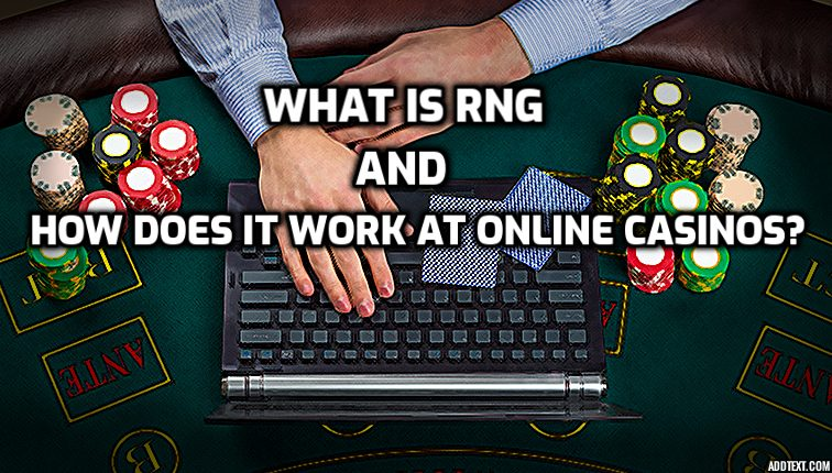 image for article about RNG at online casinos