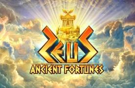 Ancient Fortunes Zeus slot logo