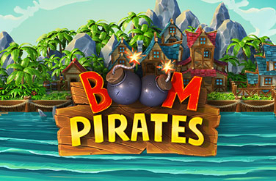Boom Pirates slot logo