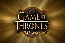Game of Thrones slot logo