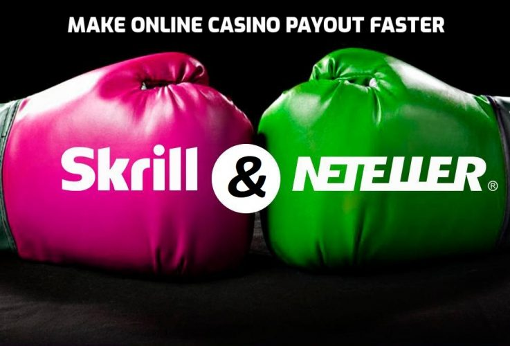 How to create a Neteller and a Skrill account to make online casino payout faster