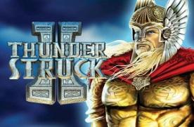 Thunder Struck 2 slot logo