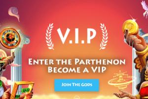 Casino Gods VIP treatment