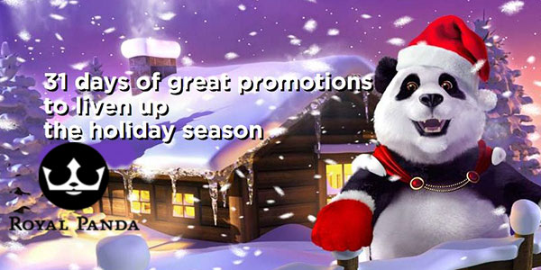 Royal Panda Christmas Promotions 2019 (Get up to NZ$ 10.000 in prizes)