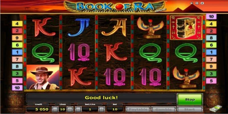 Book of Ra Deluxe screenshot