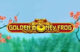Gold Money Frog pokies logo
