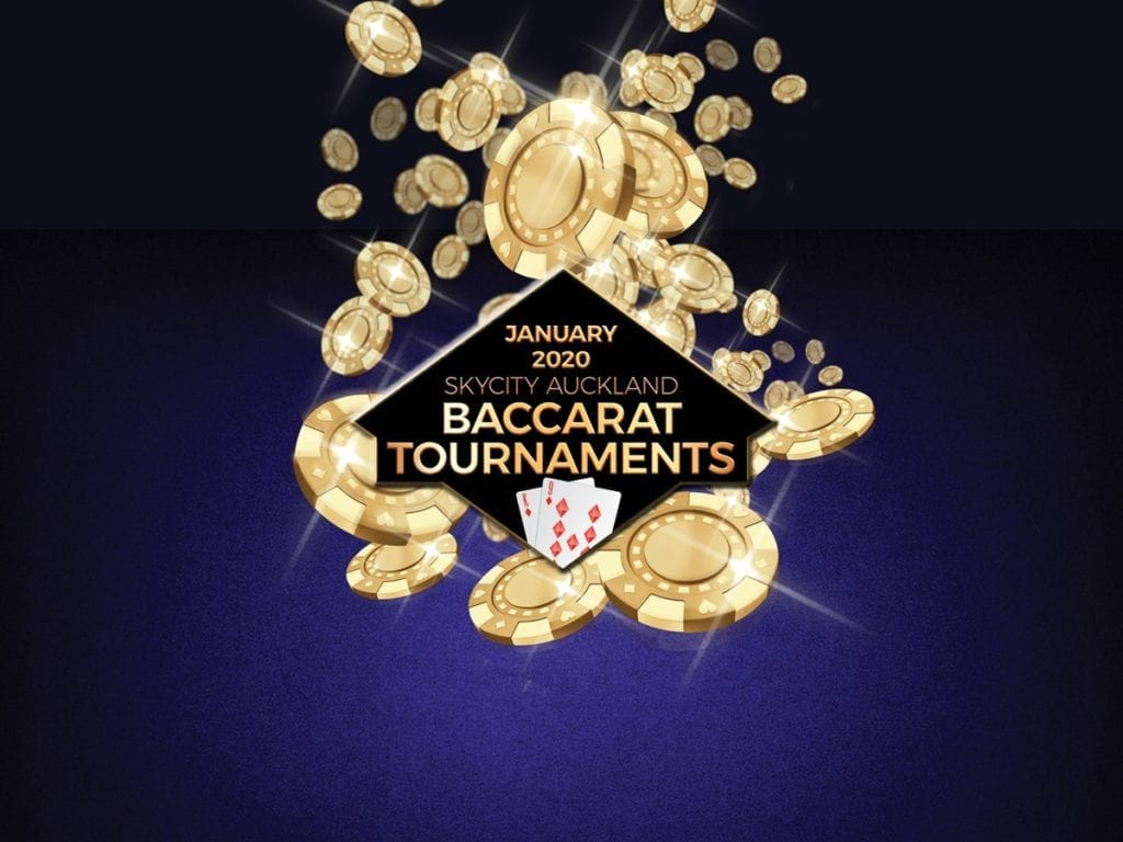 Baccarat tournament in Auckland casino 2020