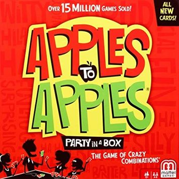 apples to apples game for fun