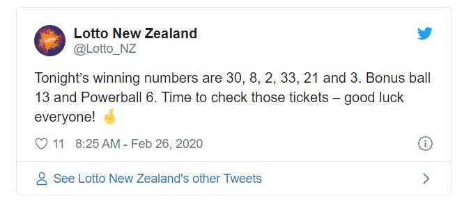 lotto new zealand draw feb 26, 2020