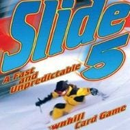 Logo of the card game Slide 5.