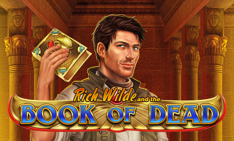 book of dead online pokie cover