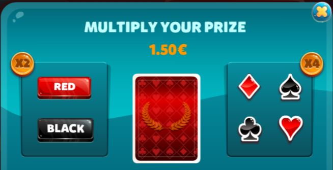 miltiple your prizes with gambling
