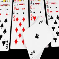 Klondike cards.