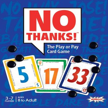 no thanks  is game with cards