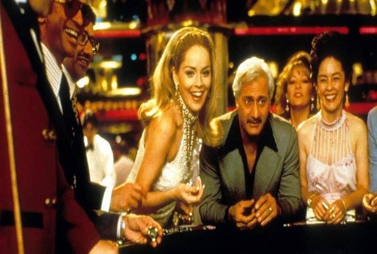 Sharon Stone as Geri McKenna in the casino movie