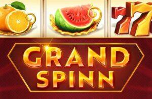 Logo of the Grand Spinn jackpot game