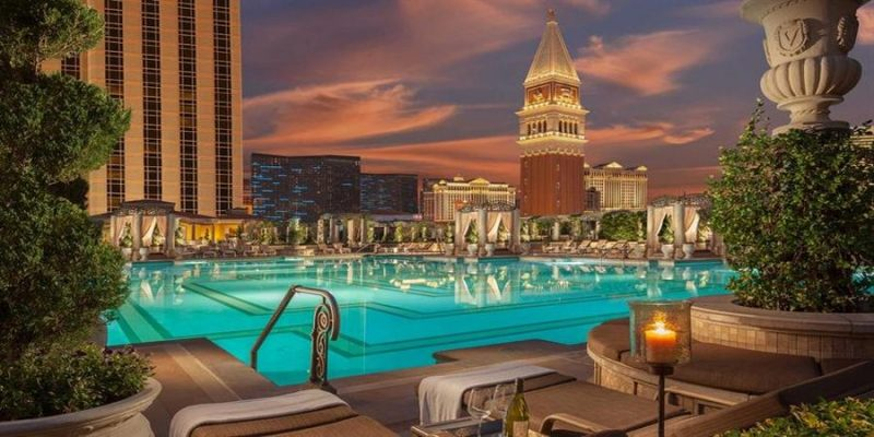 The Venetian Resort Hotel Casino in LAs Vegas