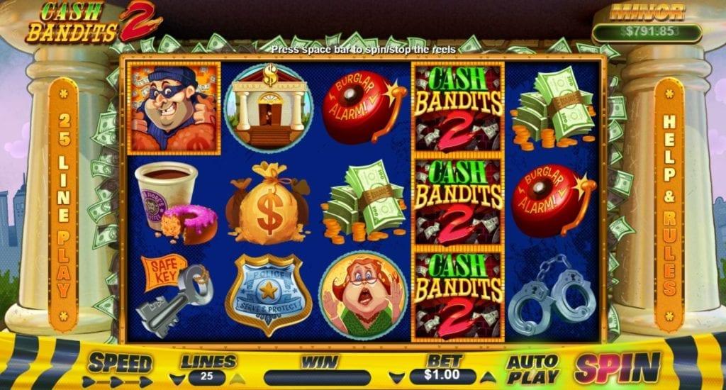 Cash Bandit 2 screenshot