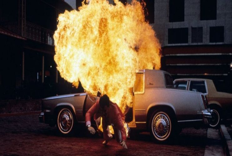 car explosion in the movie casino