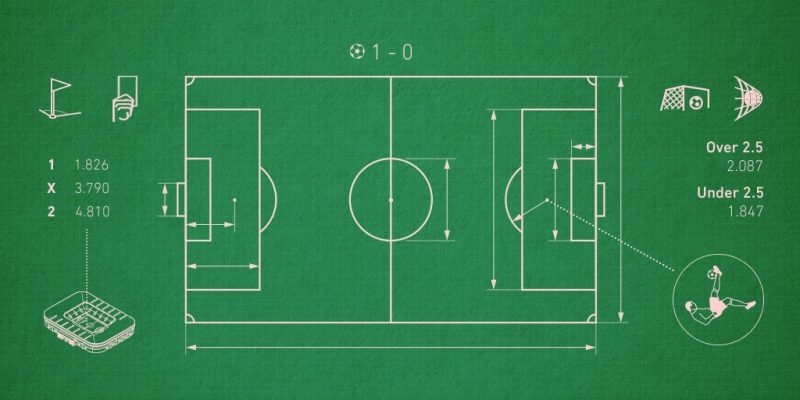 football court.