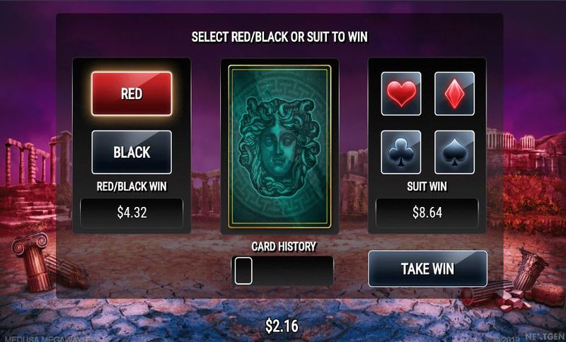 double feature at Medusa Megaways pokie