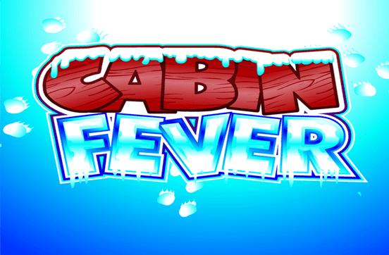 Cabin fever slot/pokies logo