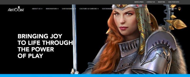 Aristocrat official website.