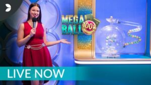 Mega Ball bingo from evoulution gaming