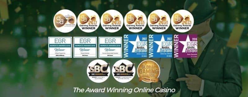 winning awards.
