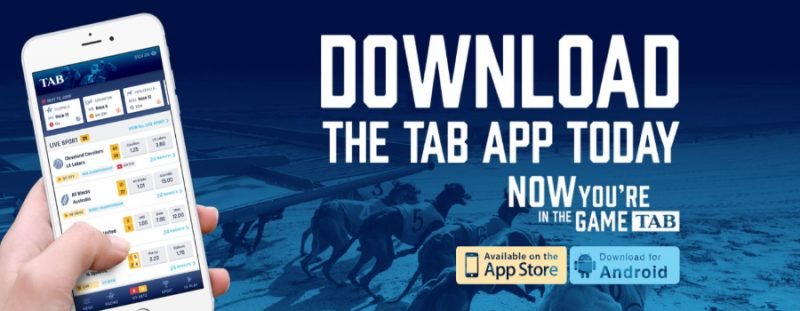 Tab NZ App screenshot.