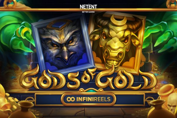 Cover image of the Gods of Golds pokies game