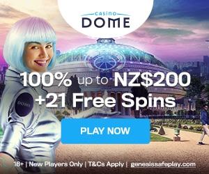 CasinoDome VIP bonus