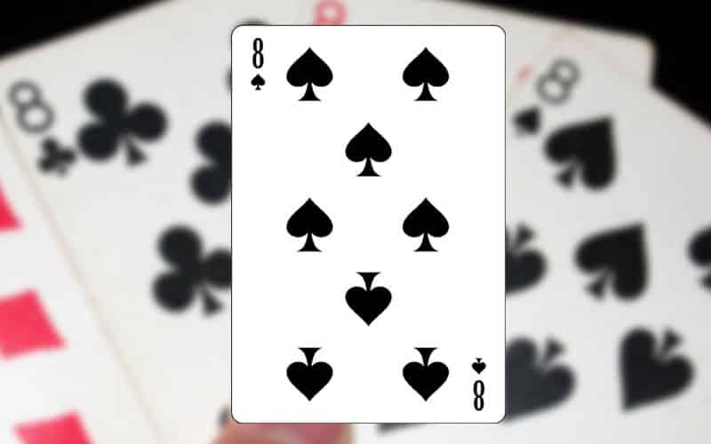 highlighted card 8.