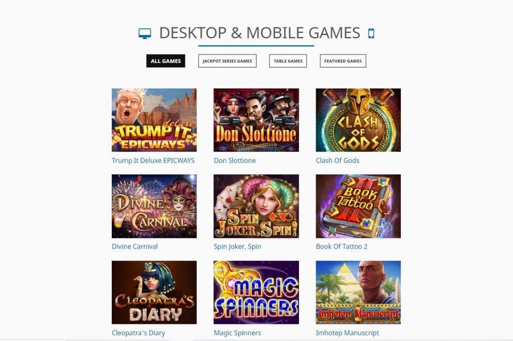 Fugaso game portfolio screenshot.