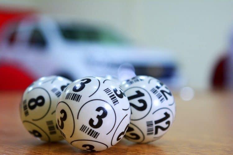 Keno balls.