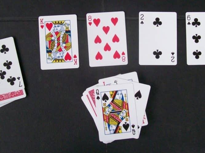 Slapjack screenshot of the game.