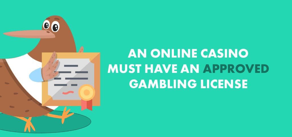 casino license.